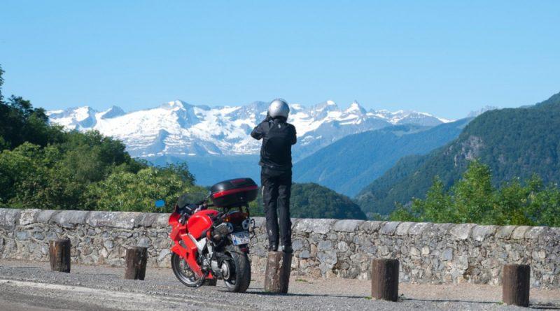 mototurismo honda VFR panorama