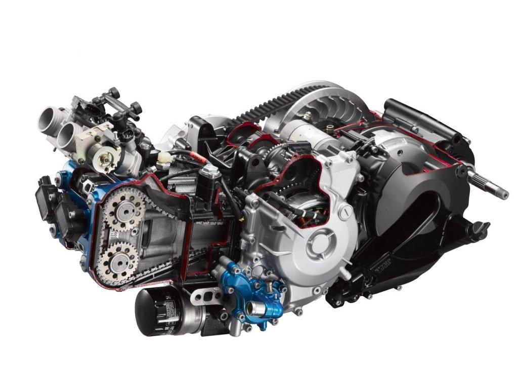 Kymco AK 550 motore