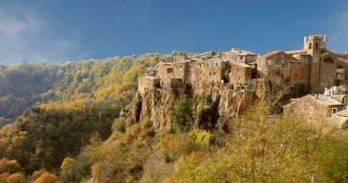 Lazio in moto, da Rocca Priora a Calcata