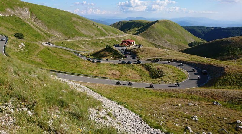 Metti 50 moto a spasso fra Lazio e Umbria