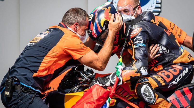Brad Binder KTM RC16 MotoGP 2020 Brno