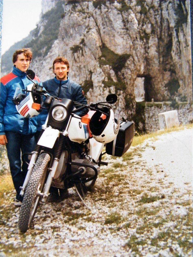Alberto Pape BMW GS 80