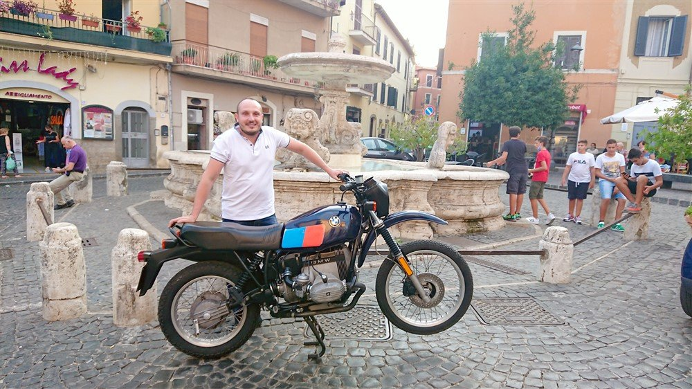 Emanuele BMW GS 80 Velletri