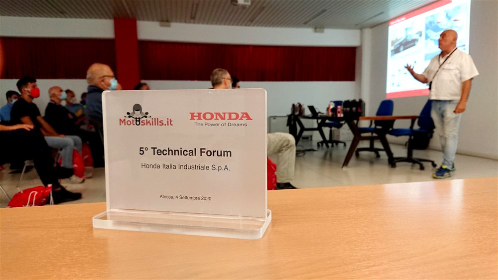 Targa Honda 5° Technical Forum