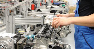BMW linea montaggio motore K 1600