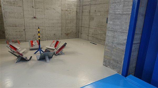 TUV SUD bunker raggi X