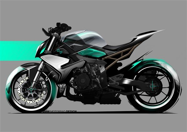 BMW S 1000 R 2021 sketches