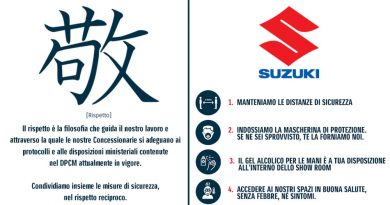 Suzuki concessionarie aperte lockdown