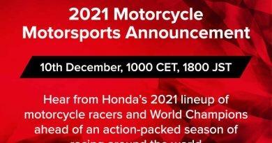 Honda Racing Presentazione 2021