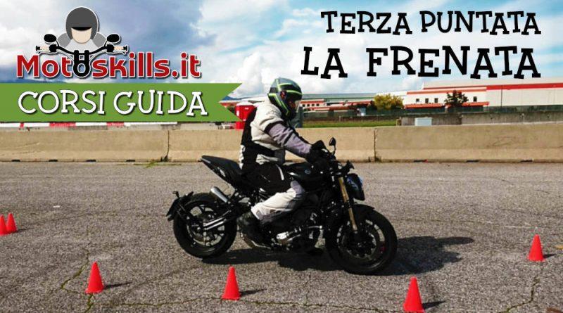 Corso di guida moto frenata cover youtube