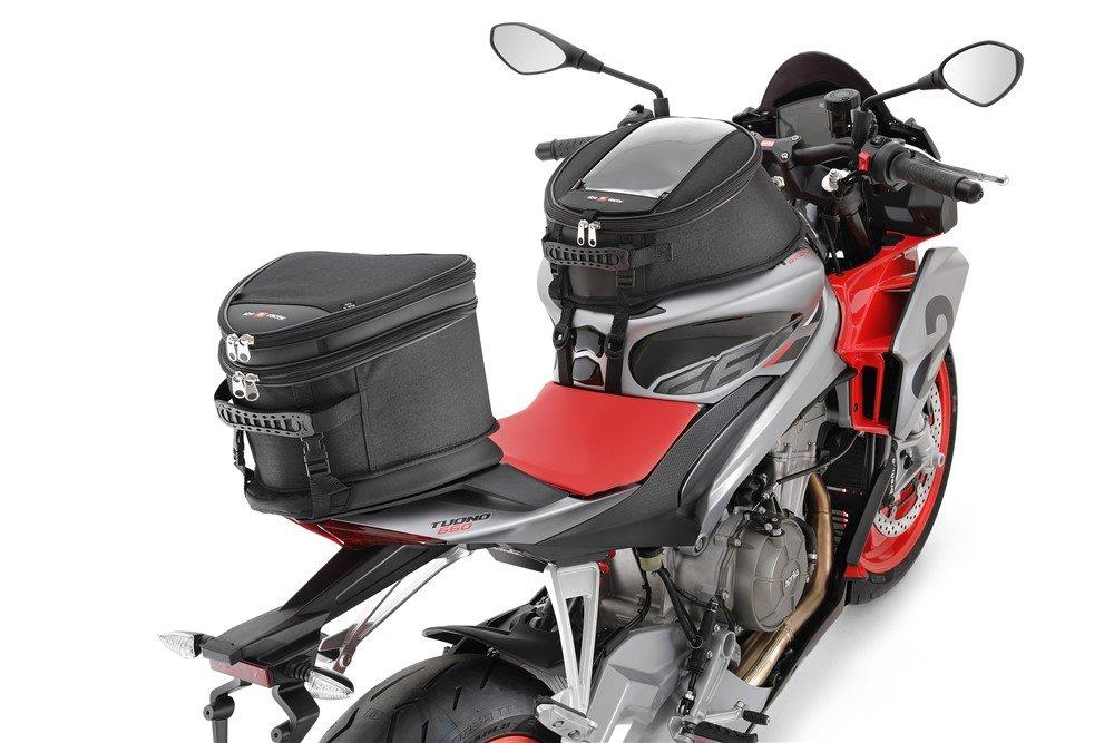 Moto Aprilia Tuono 660 borse serbatoio e sella