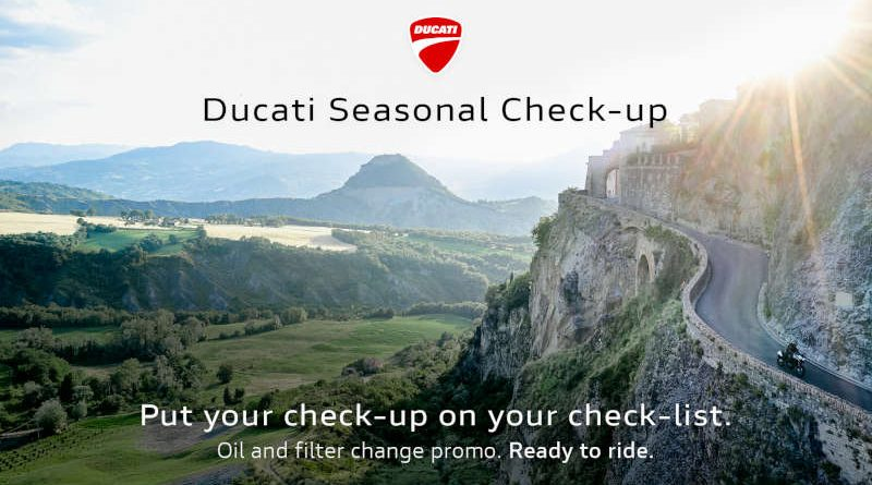 Ducati Seasonal CheckUp 2021