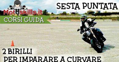 corso guida sicura moto imparare a curvare