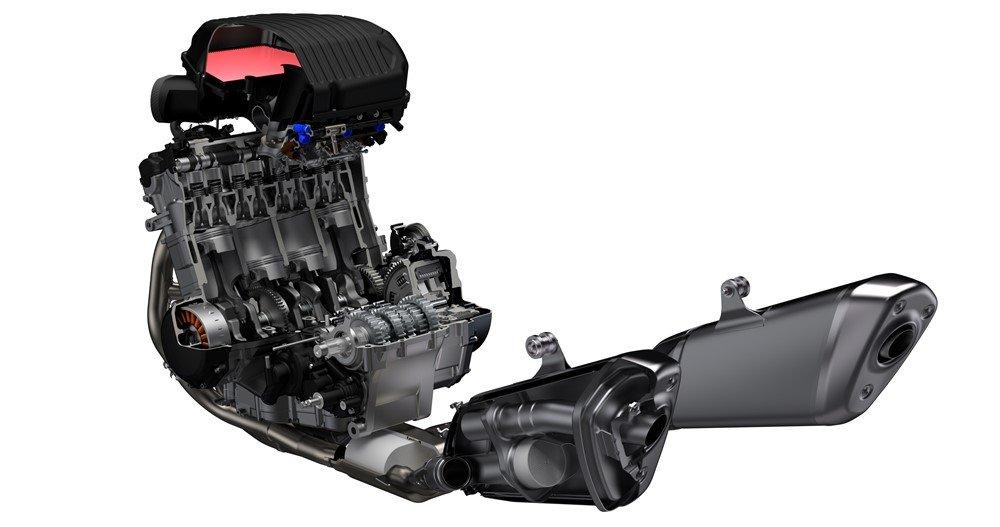 Suzuki Hayabusa 2021 motore