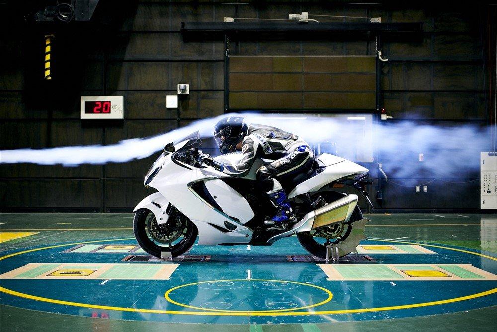 Suzuki Hayabusa 2021 aerodinamica