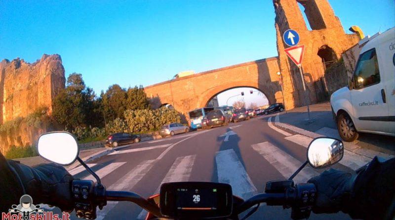 Harley Davidson LiveWire riding