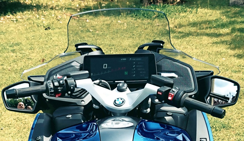 BMW R1250RT 2021 quadro comandi
