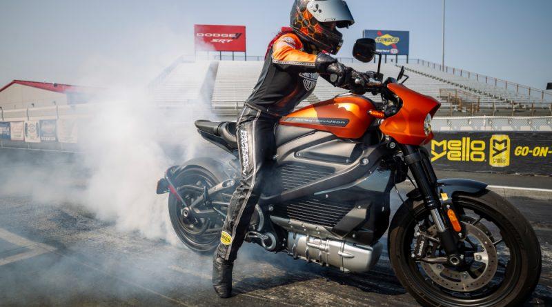 Harley-Davidson LiveWire Burnout