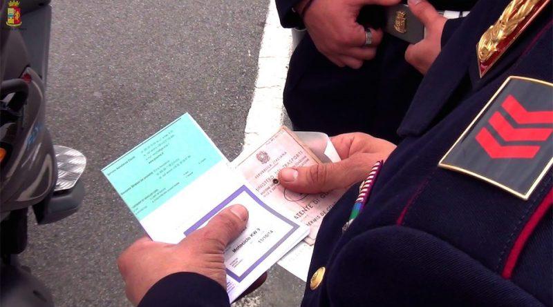 Polizia Stradale controllo documenti