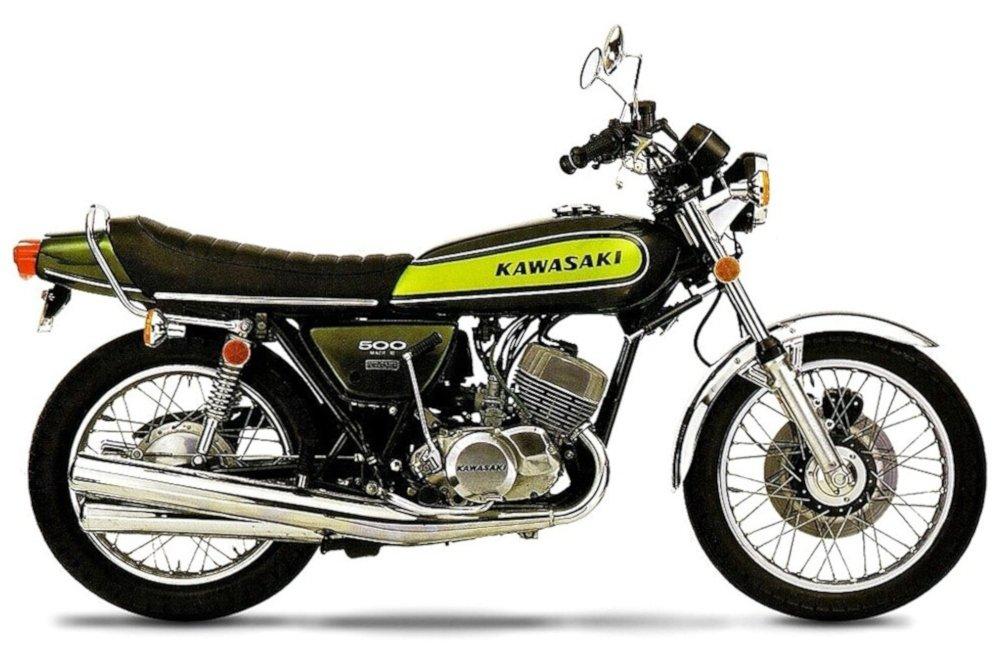 Kawasaki H1 500 Mach3